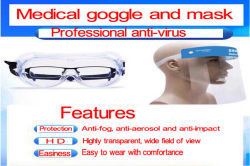 Medical goggle and mask