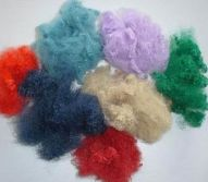 Colorful polyester fiber