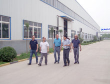 Bulgarian customer visit to my company