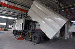 Sweeper truck workshop