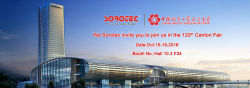 120th Canton Fair 2016 in Guangzhou,welcome to visit booth Hall 10.3-F34
