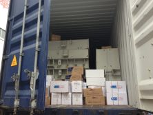 Packing in 40Gp container