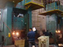 500 ton punch press