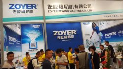 zoyer sewing machine factory CISMA fair show