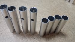 The Aluminum small tubes