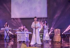 The Chinese Traditional Musical instruments Performance