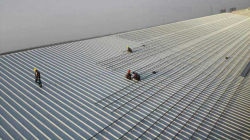 1.5MW tin roof project in Thailand