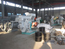 Factory pellet mill workshop