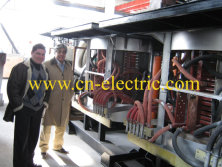 1.5ton Induction Furnace to Mashhad Iran