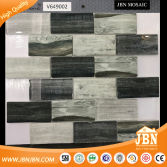 Factory Foshan 3D Marble Wood USA Mosaic Tile for Interior Design (V649002)