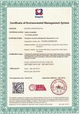 ISO14001 Environmental management system certification