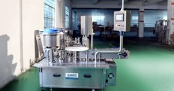auto monoblock capping filling machine