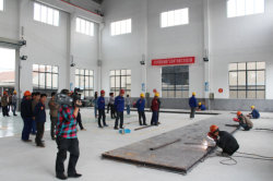 Zhengda cup welders skills competition