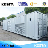 container type soundproof genset