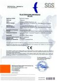 CE Certificate of CM Series Container Mixer