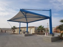 New Project of steel structure Car Park in Qatar