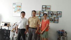 Belarus Customer visit our copany to custom Powder Coating Plant