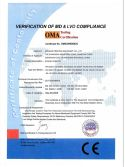 CE Certificate of Screen Printer