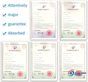 Patent-certificate of Innovation Huayi