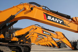 Again, SANY mini excavators shine Indian market