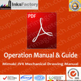 Mimaki JV4 Mechanical Drawing Manual