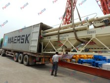 Concrete Mixing Plants Delivering