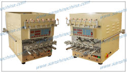 Six spindles fine wire automatic coil winding machine with wire twister (SS966T)