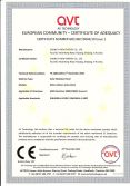 CE certificate of solar panel