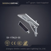 Integrated 60W LED Solar Street Light with Battery Solar Panel