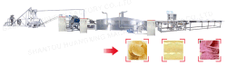 Complex potato chips production line