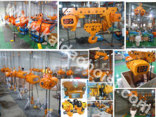 9.ELK Chain Hoist Production Line