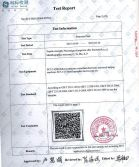 Galvanized Steel Sheet Test Certificate for Phillpines