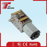 Aviation models 6V electric micro geared worm gear motor DC