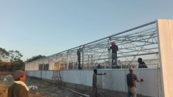Steel Structure Chicken Farm Project In Ethiopia