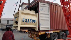 JS1500 Concrete Mixer with Planetary Reducer