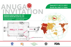 ANUGA Fair 0ct7-11.2017