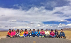 Team Activity In Tibet