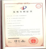 company patent certificate