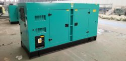 100kw soundproof diesel generator set delivered to Peru Pharmacy