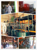 Customer case :ZSA series waste oil recycling machine