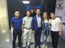 16rh May,2017 Iran customer Pouyan Atashinmehr visit Hongzhou