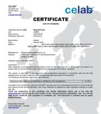 CE certificate for Shower Drain