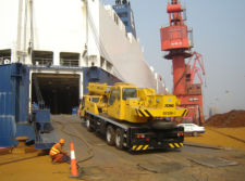 Delivery and Transport of Cranes