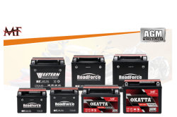 AGM MF Motorcycle Battery Series