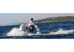 aqualand 14feet 4.3m rib motor boat/rigid inflatable fishing boat(RIB430C)