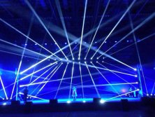 40pcs sharpy 230w beam in india concert show