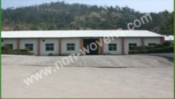 the panorama of non-woven fabric factory