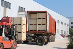 Aluminum foil raw materials, jumbo rolls sent to Spain