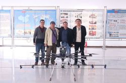 Warmly Welcome South Korean Merchants to Visit China Coal Group for Purchasing Agriculture Drone