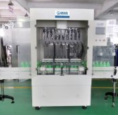 auto anti-corrosive liquid filling machine